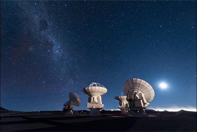 Rodamientos para antenas/satelites del observatorio astronomico Simons