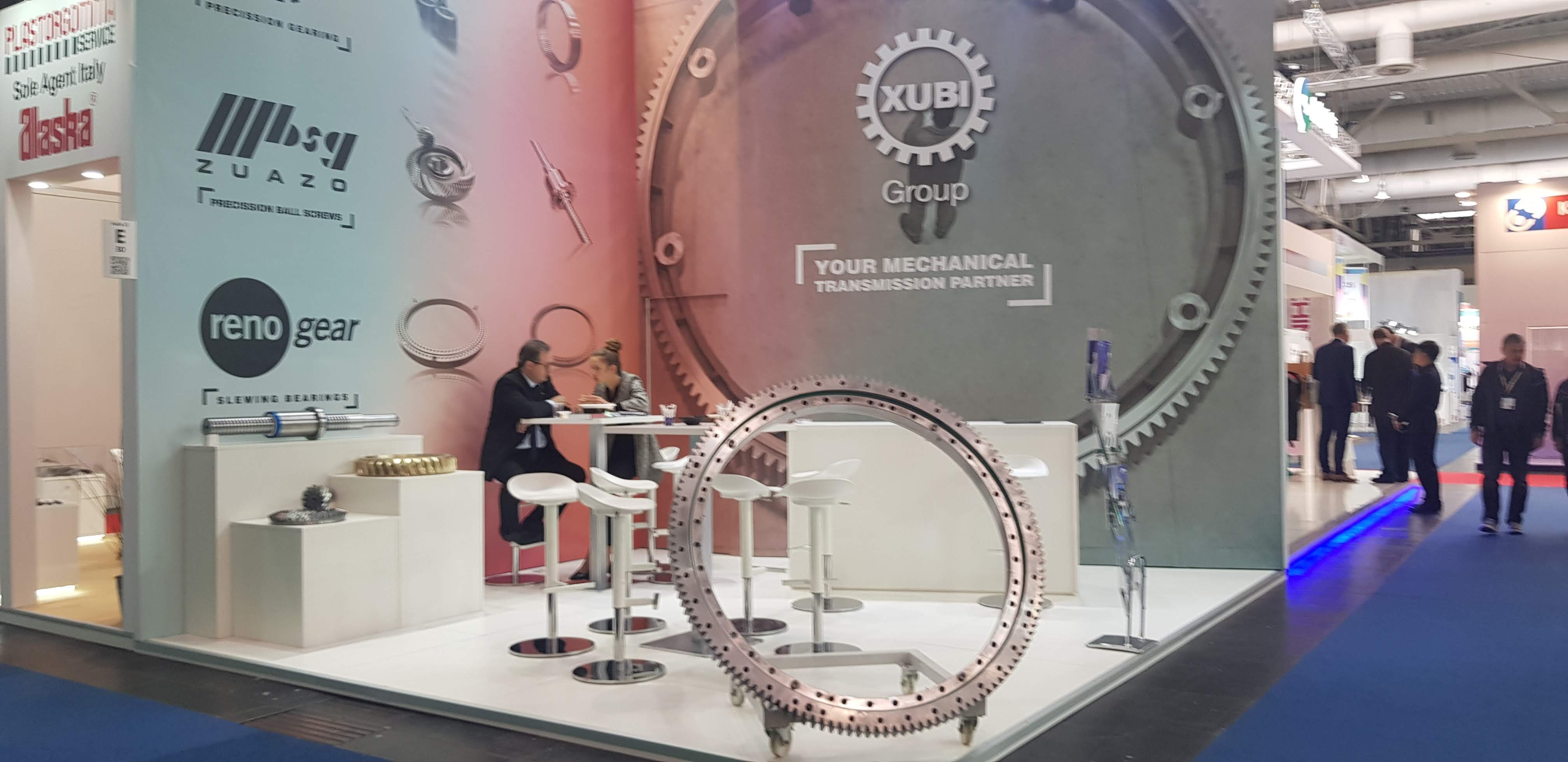 Xubi Group at the Hannover Messe 2019 trade fair